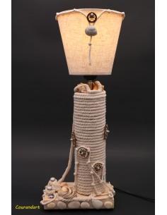 Lampe artisanale à poser C132