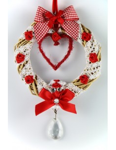 Creation Red love crown