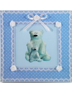 Creation white bear