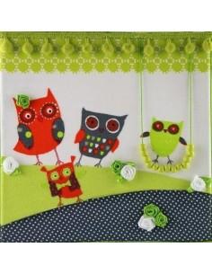 Tableau Owl Family