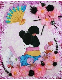 Tableau Japanese girl