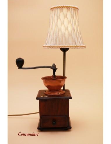 Lampe artisanale à poser C068