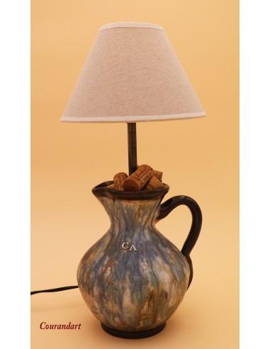 Lampe artisanale à poser C064