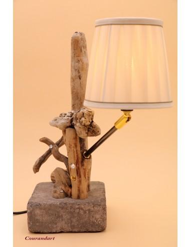Lampe artisanale à poser C80