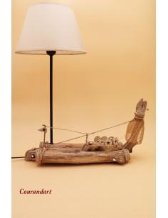 Lampe artisanale à poser C89