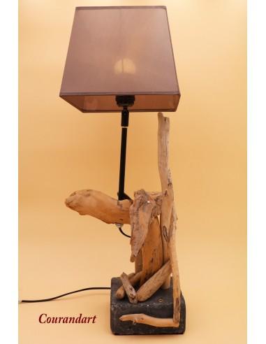 Lampe artisanale à poser C83