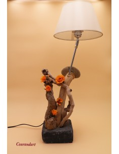 Lampe artisanale à poser C84