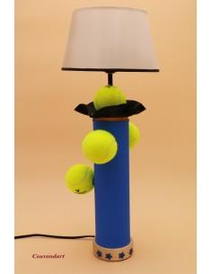 Lampe artisanale à poser sport C96