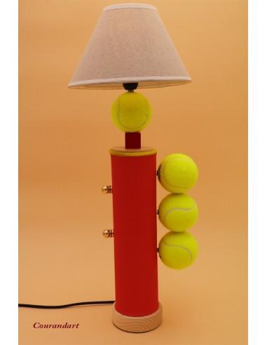 Lampe artisanale à poser sport C98