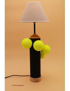 Lampe artisanale à poser sport C99