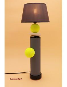 Lampe artisanale à poser sport C105