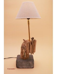 Lampe artisanale à poser C79