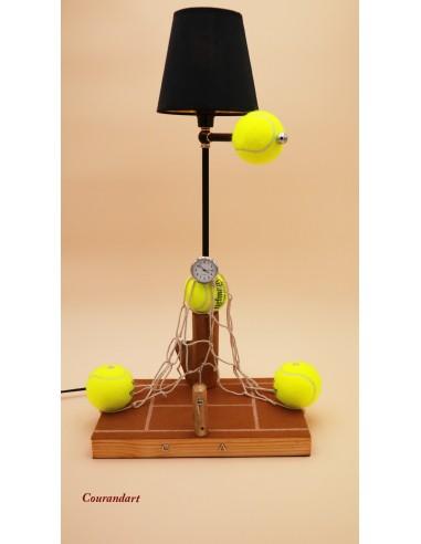 Lampe artisanale à poser sport C94