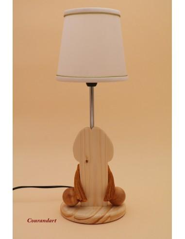 Lampe artisanale à poser C114
