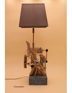 Lampe artisanale à poser C67