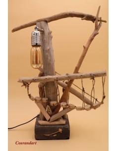Lampe artisanale à poser C90