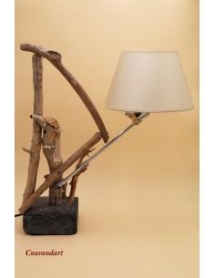 Lampe artisanale à poser C87