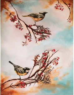Tableau Singing birds