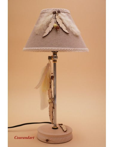 Lampe artisanale à poser C107