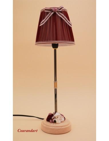 Lampe artisanale à poser C108