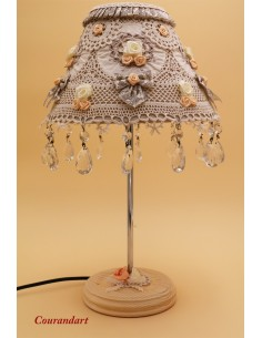 Lampe artisanale à poser C112
