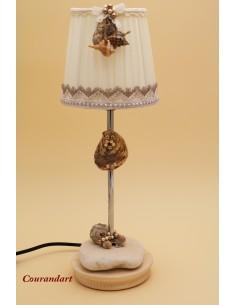 Lampe artisanale à poser C119