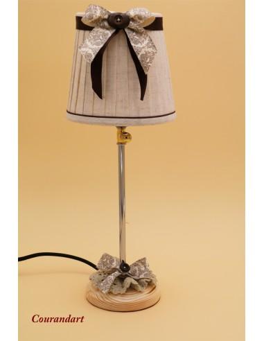 Lampe artisanale à poser C121