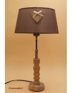 Lampe artisanale à poser C123