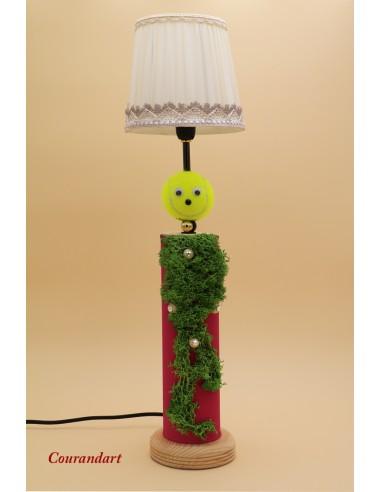 Lampe artisanale à poser C128